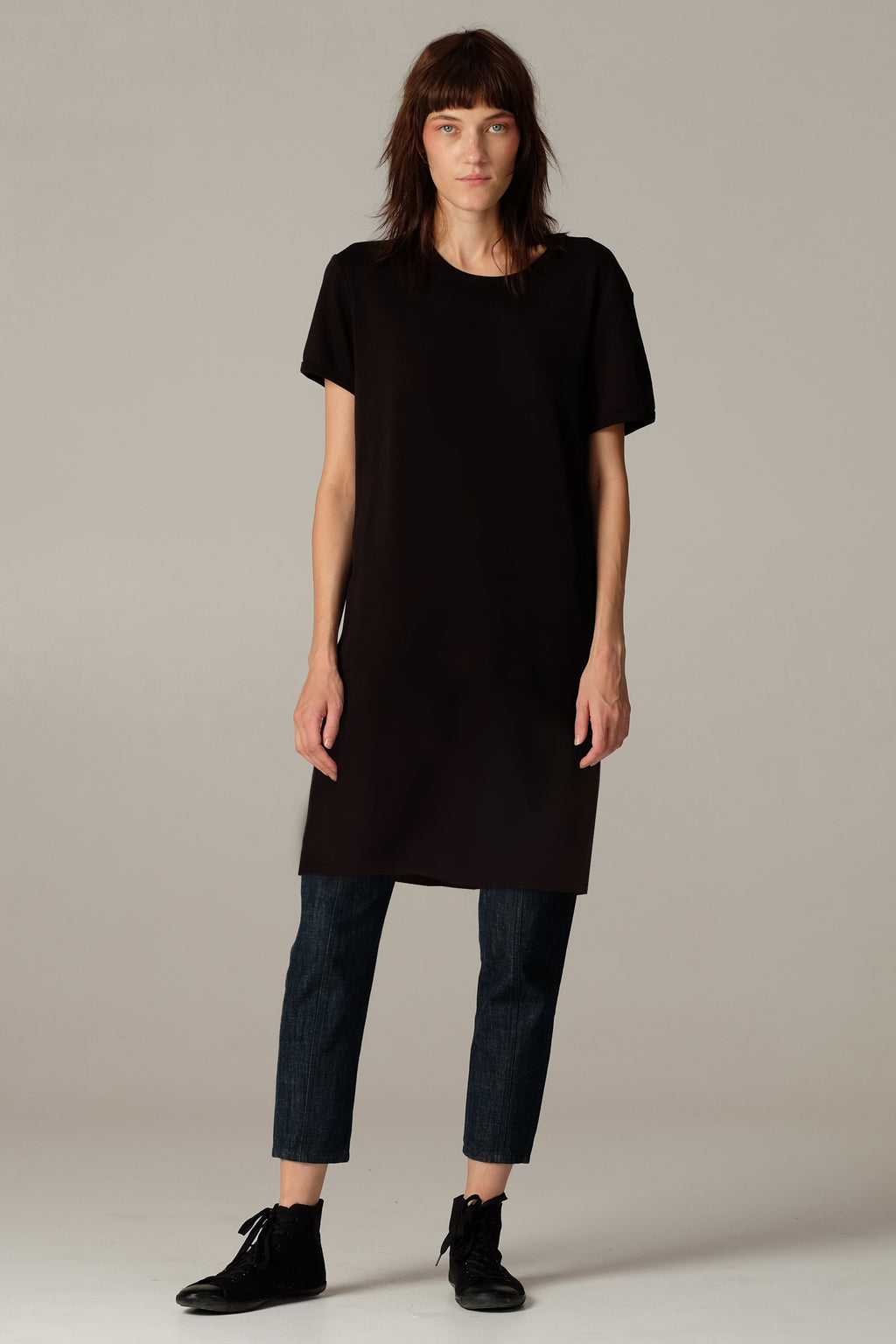 PLAIN T-shirt dress - One Wolf