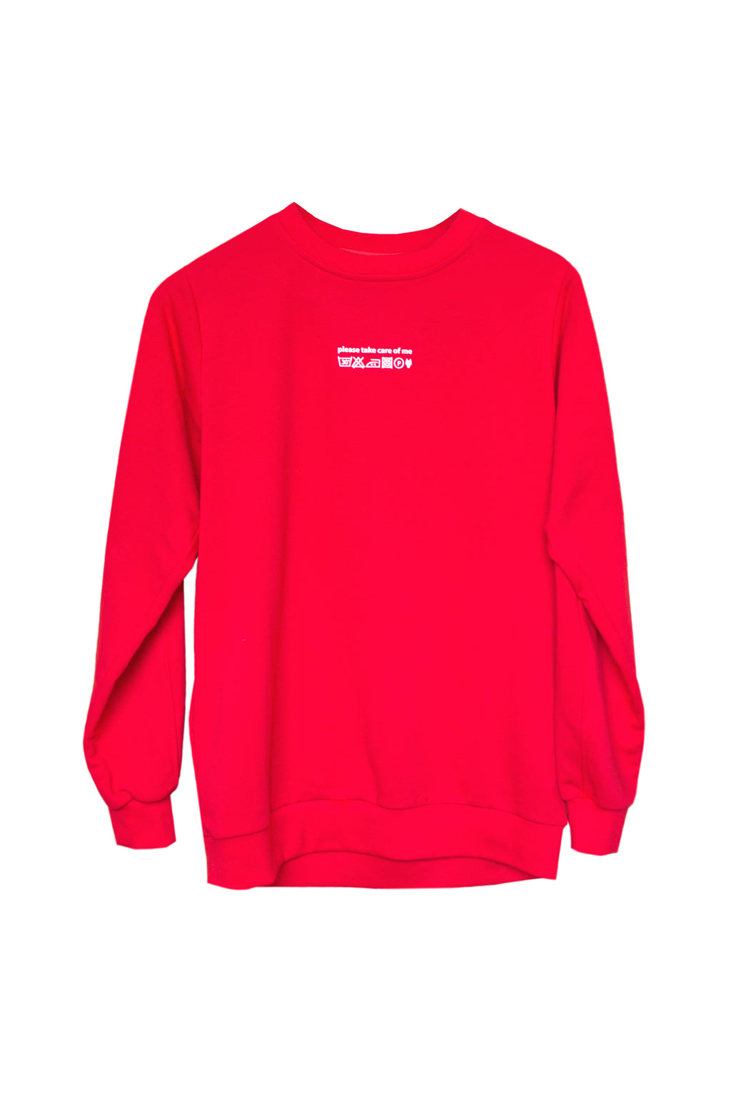 CARE OF ME sweater - red - One Wolf
