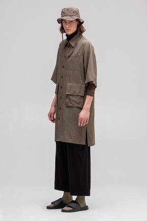 SHADOW Unisex Shirt-Dress