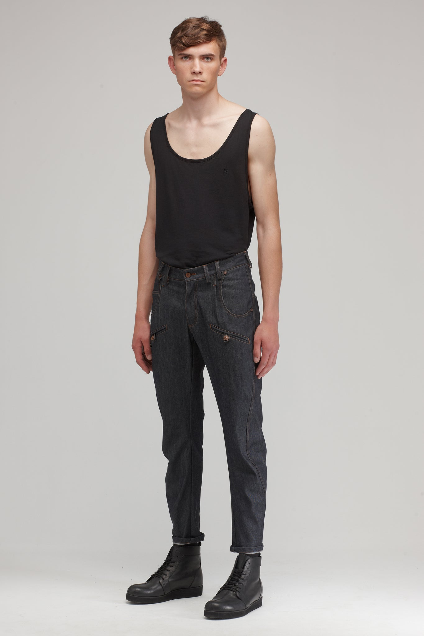 ADVANCED NEW unisex jeans - One Wolf