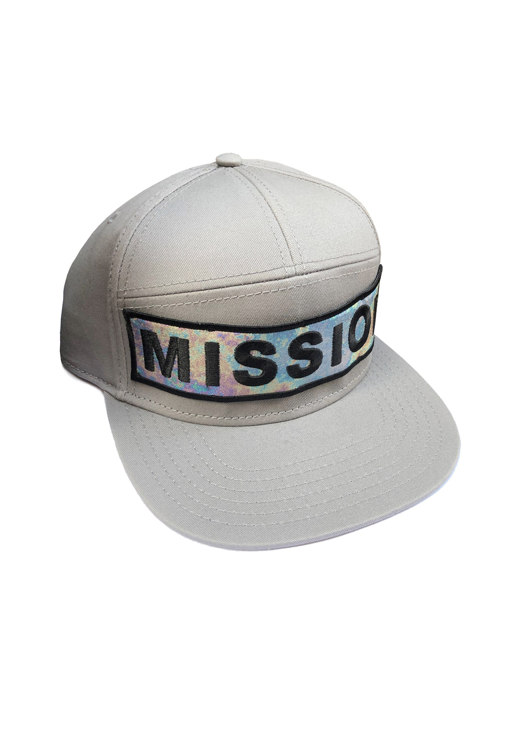 Baseball cap MISSION grey - One Wolf