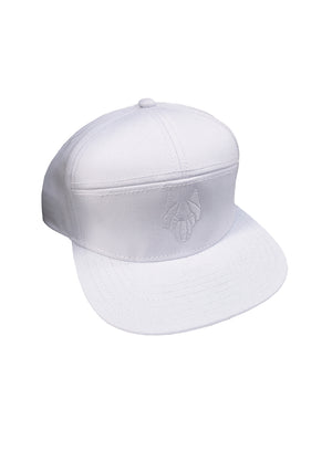 ONE WOLF BASEBALL cap white - One Wolf