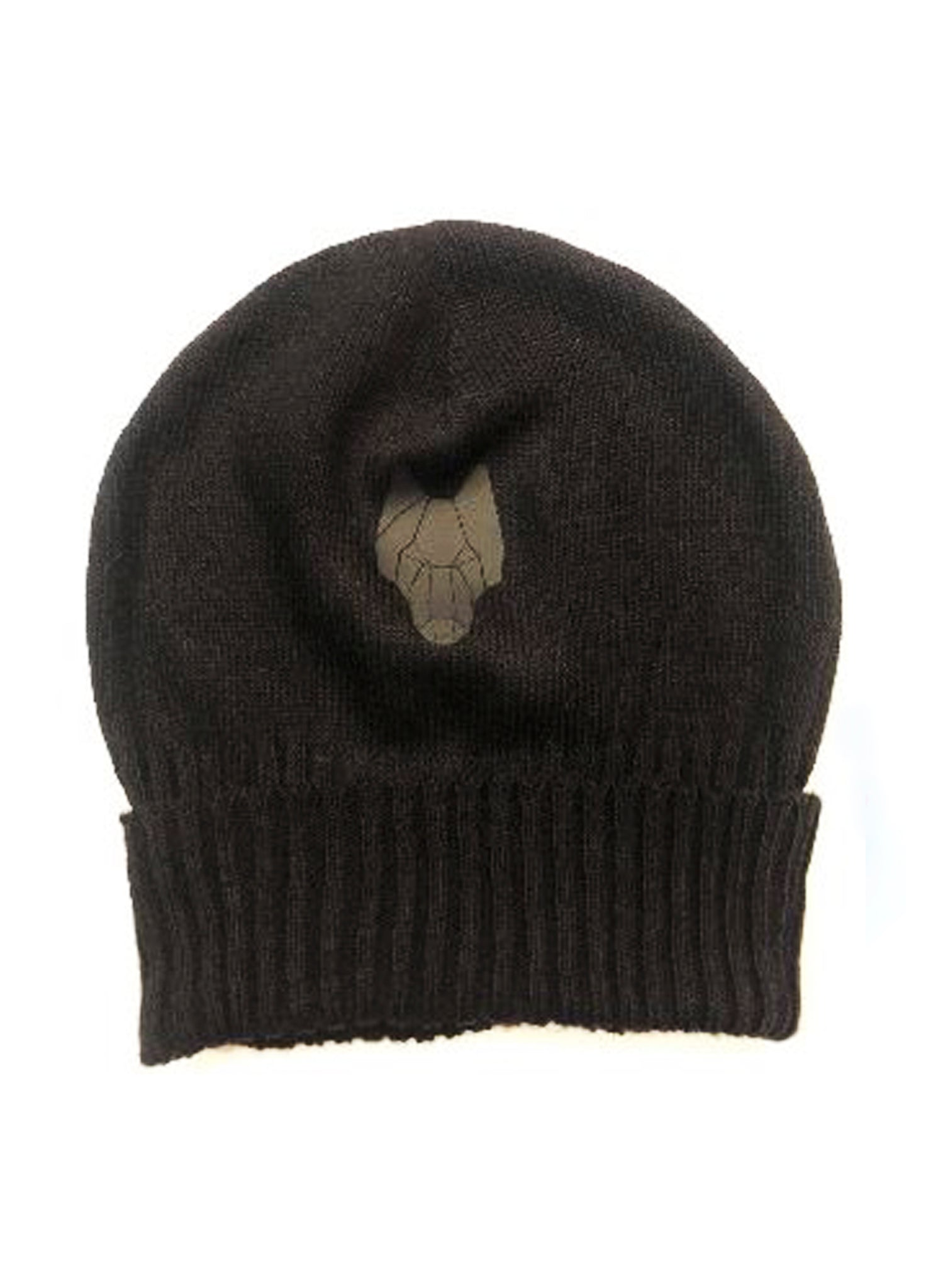 DARK STREET Beanie with large logo