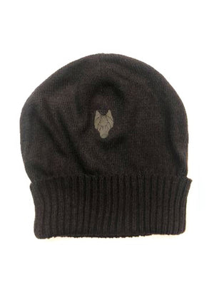 DARK STREET Beanie with small logo