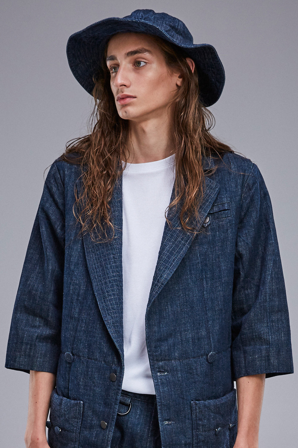 Denim hat MASTER blue - One Wolf