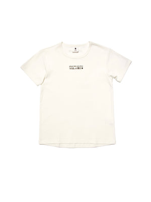 KIDS T shirt CARE OF ME off-white - One Wolf