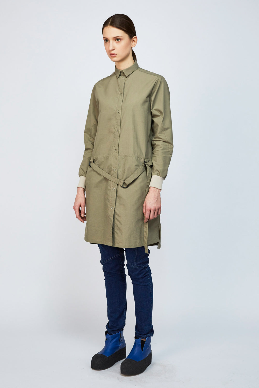Jacket-Dress WONDER khaki - One Wolf