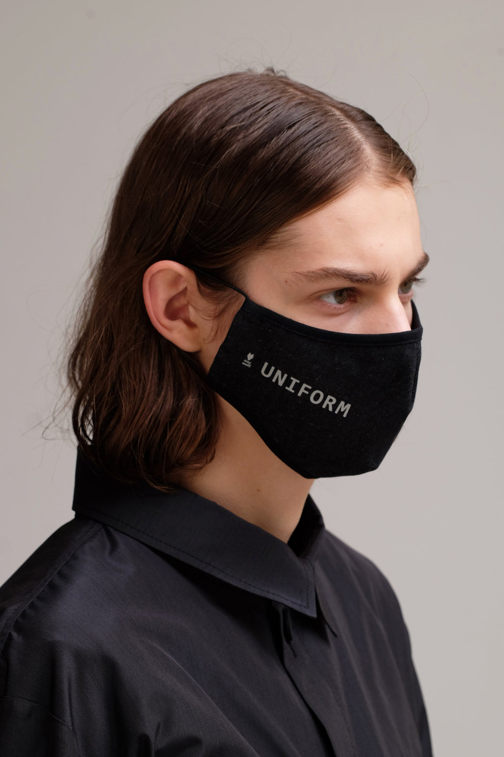 UNIFORM denim facewear mask