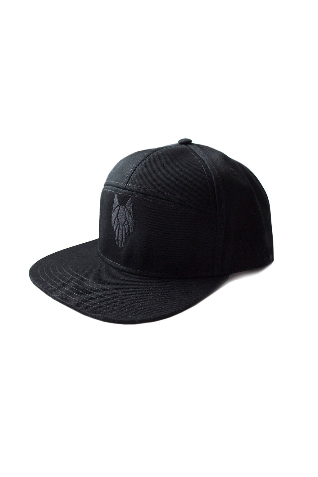 ONE WOLF BASEBALL cap black - One Wolf