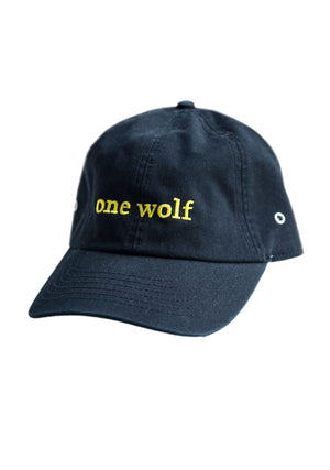 OUTSIDER Cap black - One Wolf