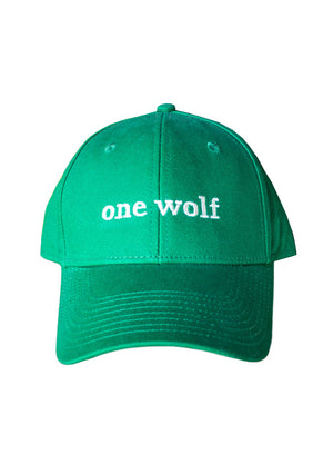 OUTSIDER cap green - One Wolf