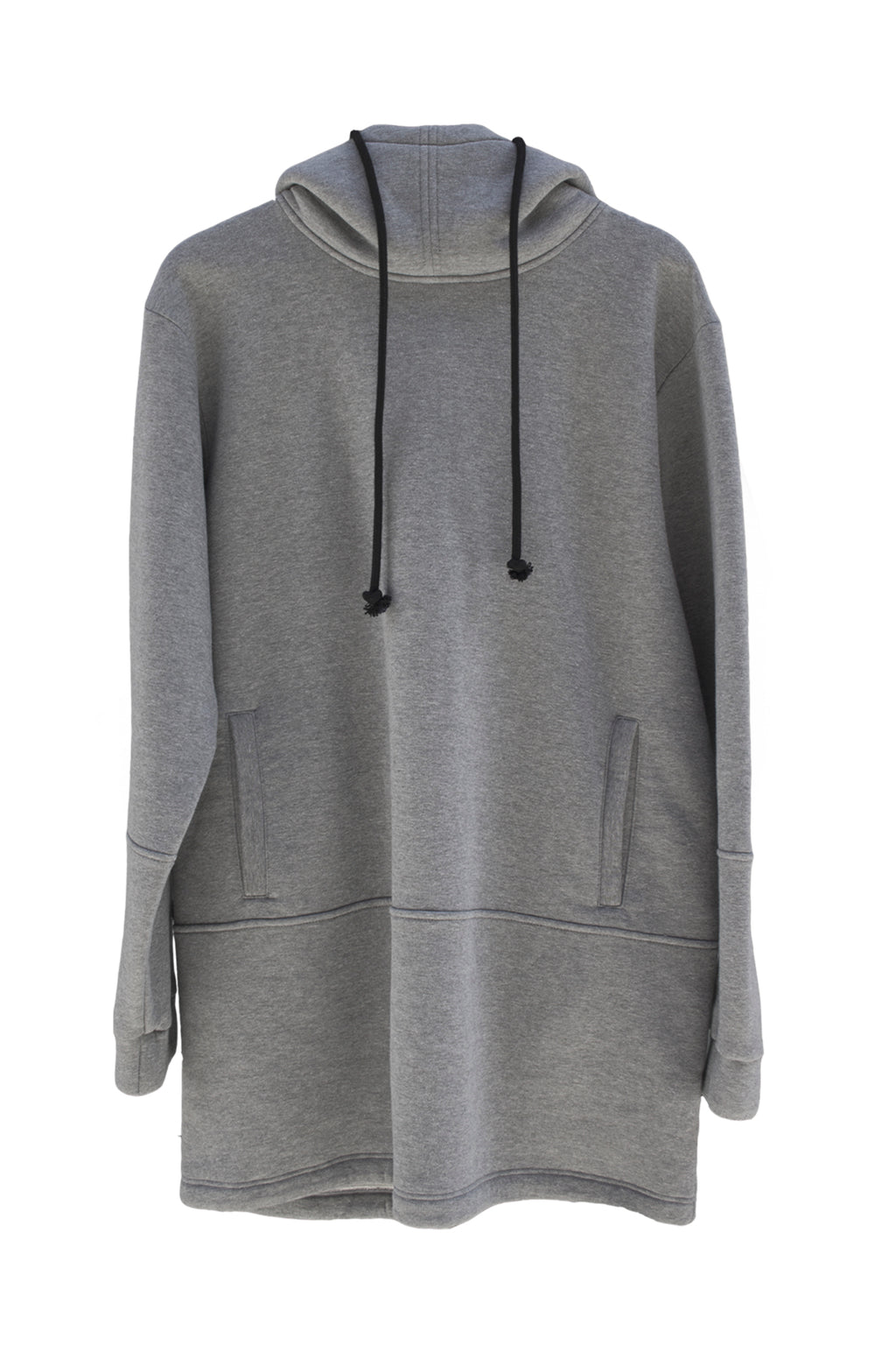 One Wolf Hoodie No.7 grey - One Wolf