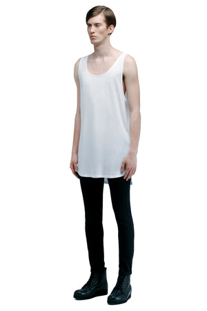 UNIFORM tank top 02 white - One Wolf