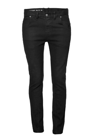 unisex jeans UNIFORM 10 - treated black - One Wolf