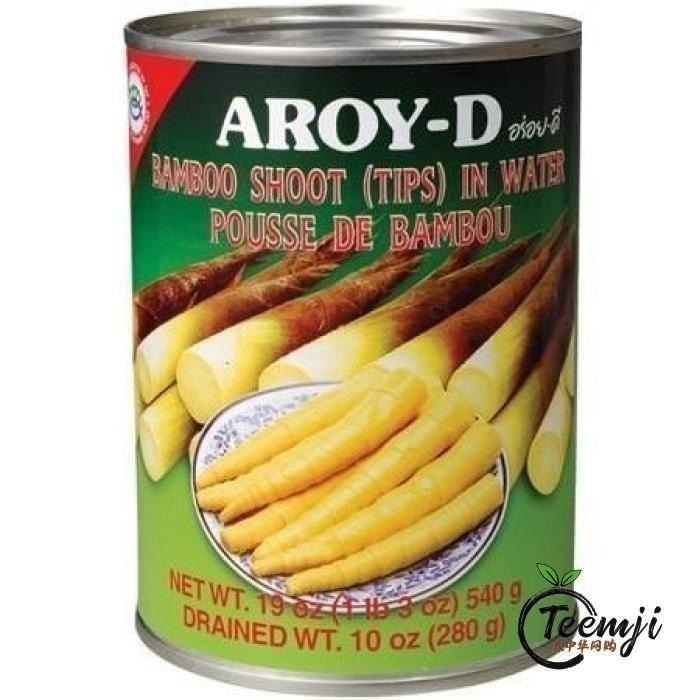 Aroy-D Bamboo Shoot (Tips) In Water 540G Preserved