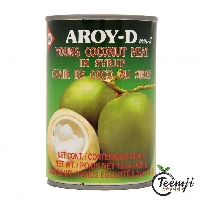 Aroy-D Young Coconut Meat In Sirup 425G Dessert