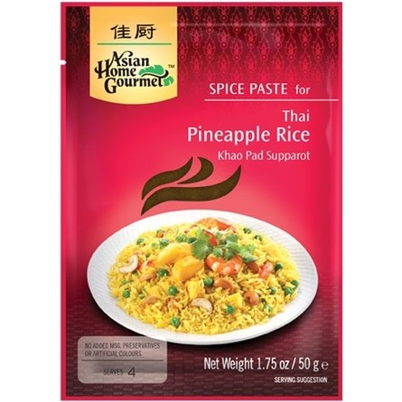 Asian Home Gourmet Spice Paste for Thai Pineapple Rice 佳厨泰式菠萝饭调料 50g
