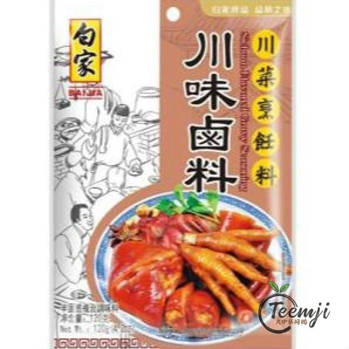 Baijia Szechuan Braised Spices 120G Spices