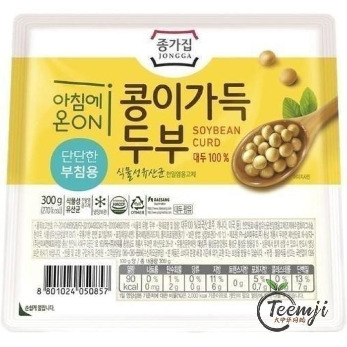 Jongga Hard Tofu 300G Fresh Products