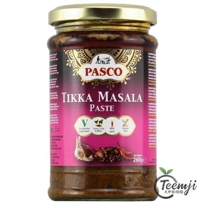 Pasco Tikka Masala Paste 260G
