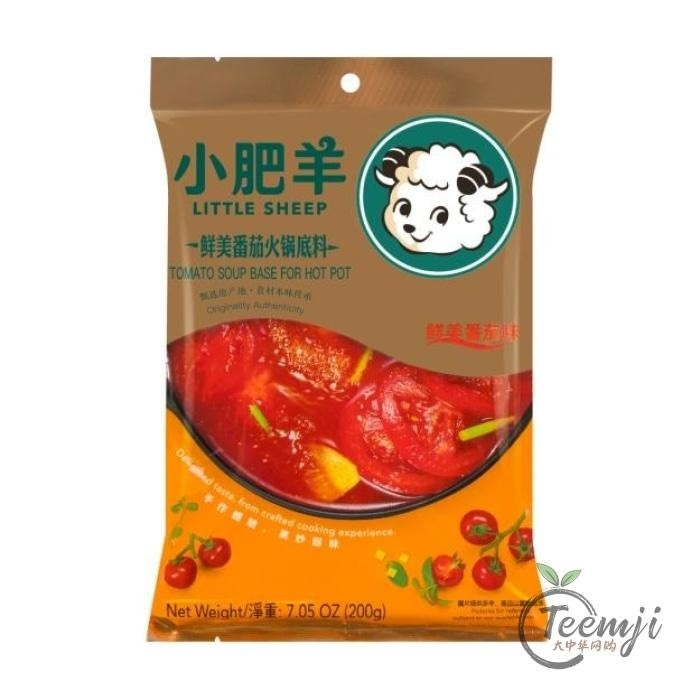 Little Sheep Hot Pot Base Tomato Flavour 200G Pot