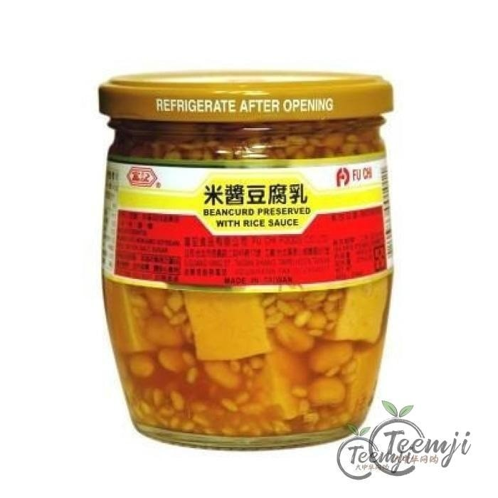Fu Chi Preserved Bean Curd With Rice 600G Sauce