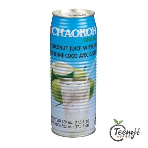 Chaokoh Young Coconut Juice With Jelly 520Ml Drink