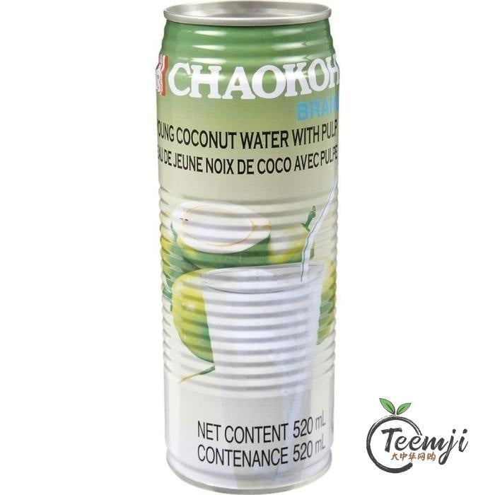 Chaokoh Young Coconut Water With Pulp 520Ml Drink