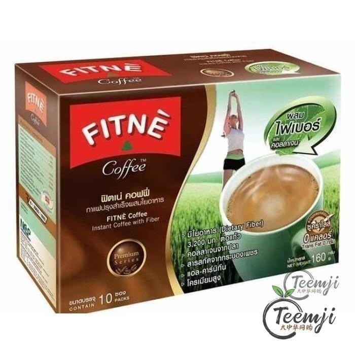 Fitne Instant Coffee Mix With Fiber Nad Collagen 160G Tea &