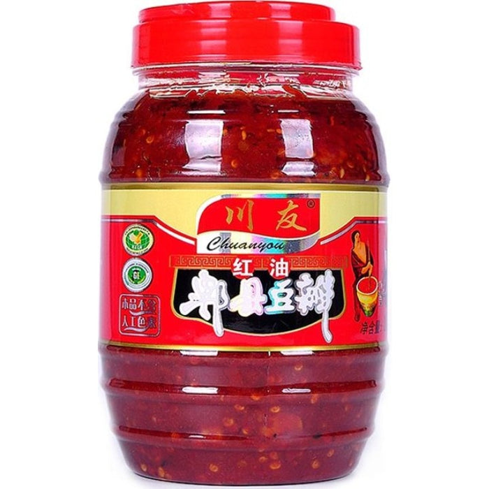 Chuan You Fermented Chilli Bean Paste 川友红油郫县豆瓣 1kg
