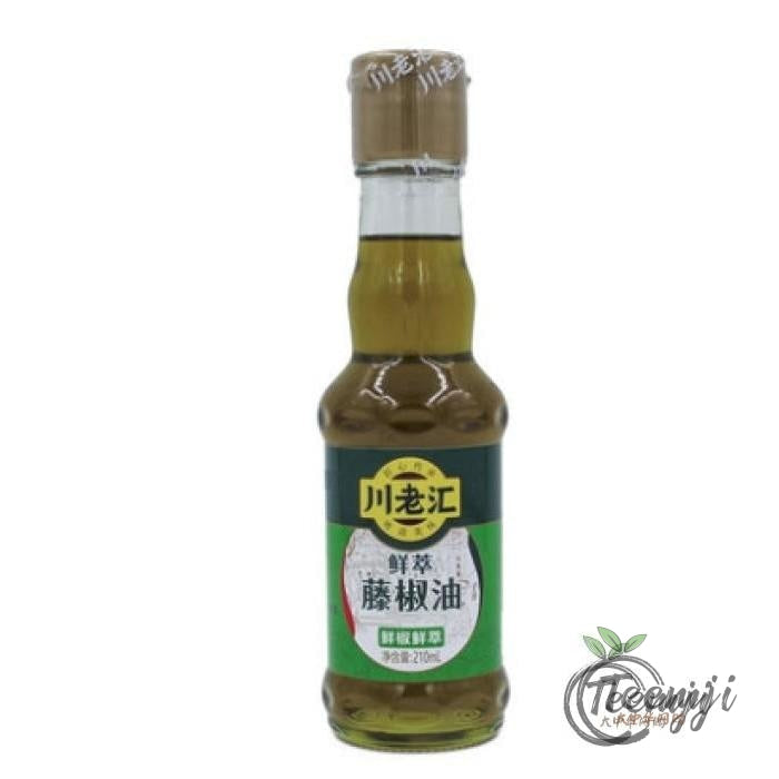 Clh Sichuan Green Pepper Oil 210Ml Sauce