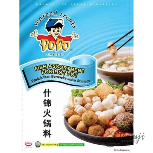 Dodo Fish Assortment For Hot Pot 300G Frozen Seafood