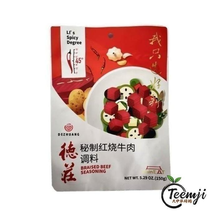 Dezhuang Braised Beef Seasoning 150G Sauce