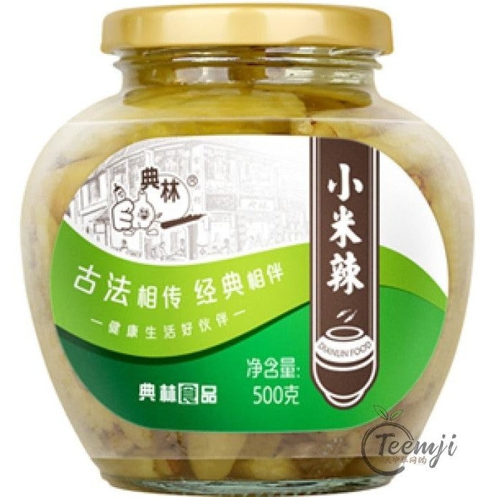 Dian Lin Pickled Green Chili 500G Preserved