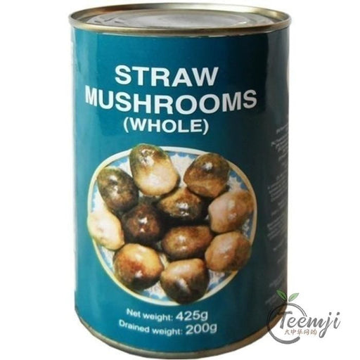 Narcissus Brand Straw Mushrooms Whole 425G Preserved