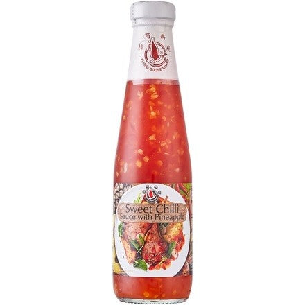 Flying Goose Sweet Chilli Sauce with Pineapple 飞鹅牌甜辣酱菠萝味 295ml