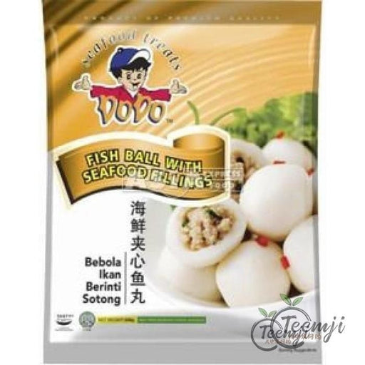 Dodo Fish Ball With Seafood Fillings 200G Frozen Seafood