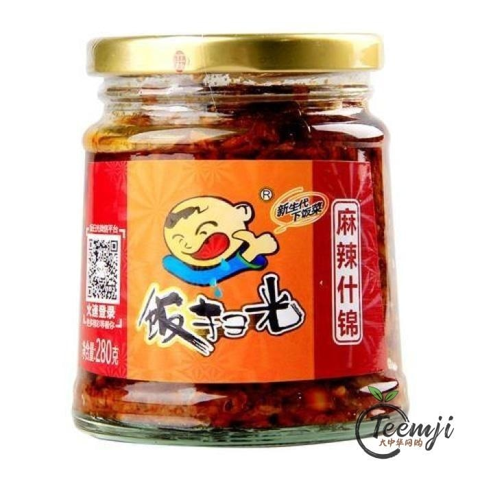 Fsg Pickled Spicy Vegetables 280G Preserved