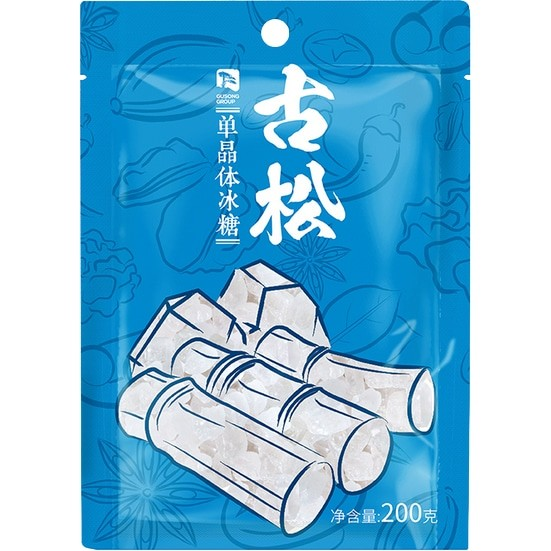 Gusong Crystal Sugar 古松单晶冰糖 200g