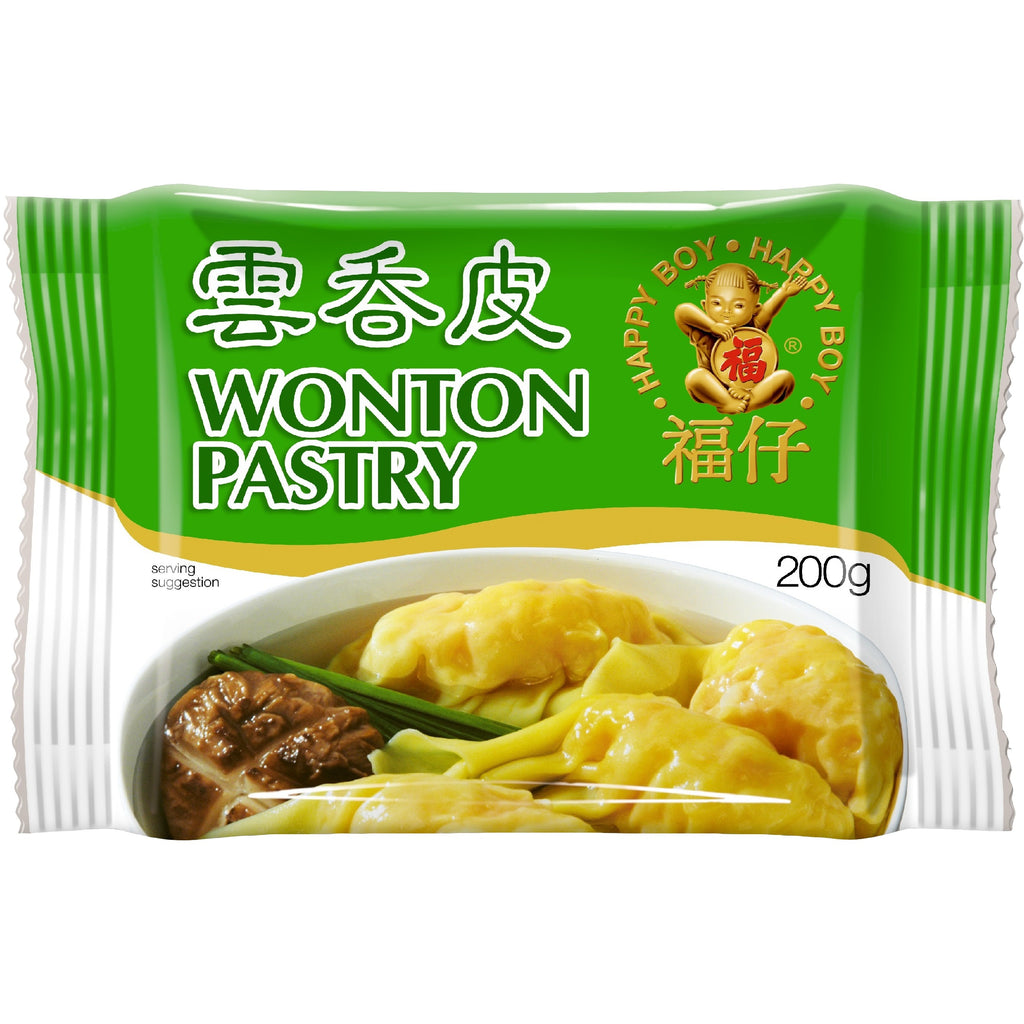 Happy Boy Wonton Pastry 福仔云吞皮 200g
