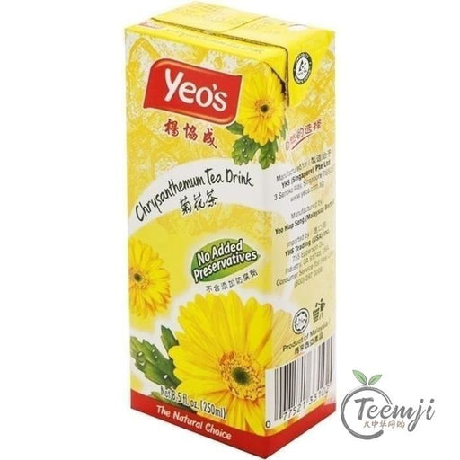 Yeo´s Chrysanthemum Tea Drink 250Ml