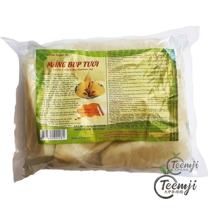 Herman Kuijper Pre-Cooked Bup Bamboo 1Kg Preserved