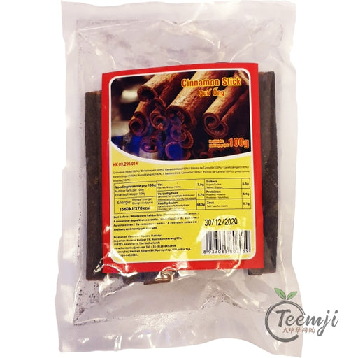 Hk Cinnamon Stick 100G Spices