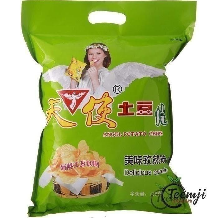 Angel Potatao Chips Cumin Flavour 108G Snacks