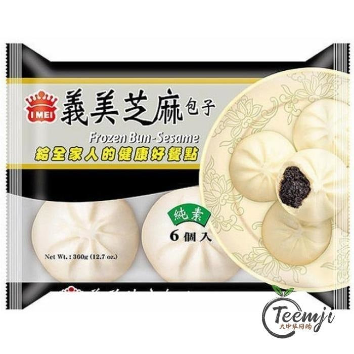 I-Mei Sesame Filling Bun 360G Frozen Food