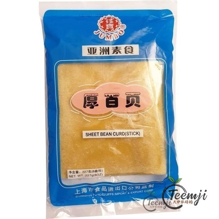 Jumbo Sheet Bean Curd Stick 227G Frozen Food