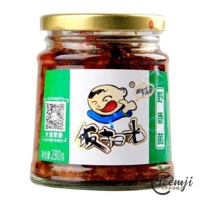 Fsg Pickled Mushroom 280G Preserved