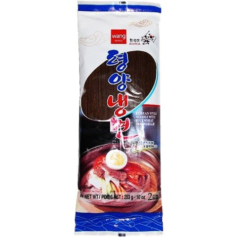 Wang Korean Style Cold Buckwheat Noodles With Chilled Broth 韩国王牌冷面 283g