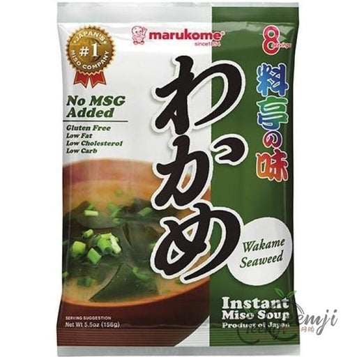 Marukome Instant Miso Wakame Seaweed 156G Spices