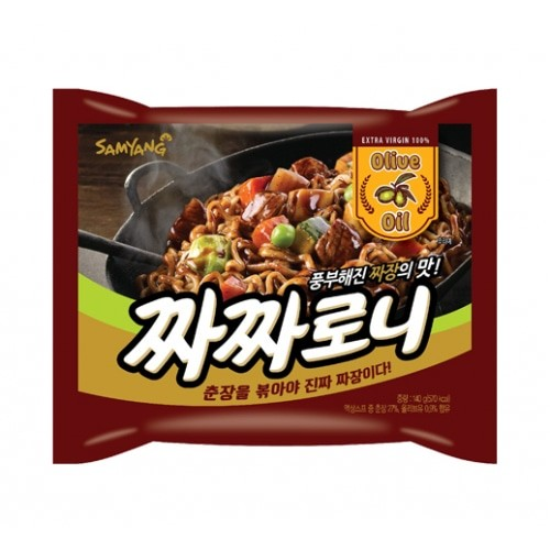 Samyang Chacharoni Ramen With Chinese Soybean Paste () 140G Noodle
